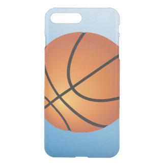 Capa iPhone 8 Plus/7 Plus Fundo do azul do ícone do basquetebol