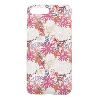 Capa iPhone 8 Plus/7 Plus Fundo floral 3