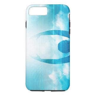 Capa iPhone 8 Plus/7 Plus Futuro da tecnologia com um alcance profissional