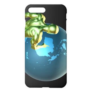 Capa iPhone 8 Plus/ 7 Plus Homem de negócios que aponta em Austrália ou em