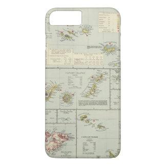 Capa iPhone 8 Plus/7 Plus Ilhas, Oceano Atlântico