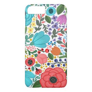 Capa iPhone 8 Plus/7 Plus Iphone7 floral bonito mais o caso