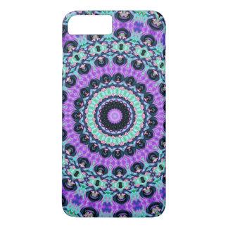 Capa iPhone 8 Plus/7 Plus Mandala roxa místico
