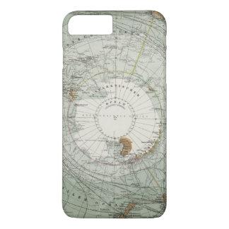 Capa iPhone 8 Plus/7 Plus Mapa sul da região polar