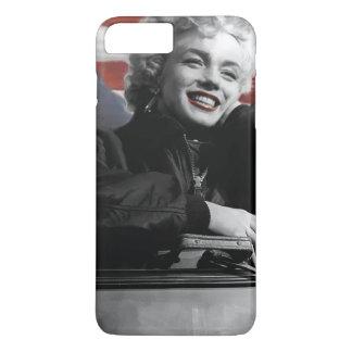 Capa iPhone 8 Plus/7 Plus Marilyn patriótica