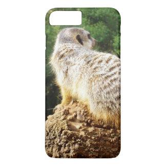 Capa iPhone 8 Plus/7 Plus Meerkat com vistas altas,