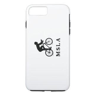 Capa iPhone 8 Plus/7 Plus Missoula Montana que dá um ciclo MSLA