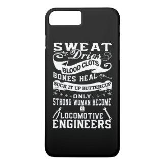 Capa iPhone 8 Plus/7 Plus Mulher do engenheiro locomotivo