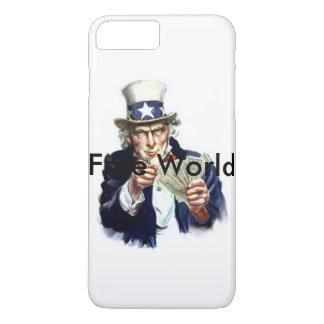 Capa iPhone 8 Plus/7 Plus Mundo livre
