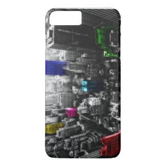 Capa iPhone 8 Plus/7 Plus Newyork colorido