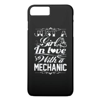 Capa iPhone 8 Plus/7 Plus No amor com um mecânico