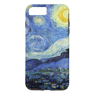 Capa iPhone 8 Plus/7 Plus Noite estrelado por Vincent van Gogh