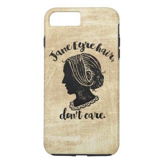 Capa iPhone 8 Plus/7 Plus O cabelo de Jane Eire não se importa