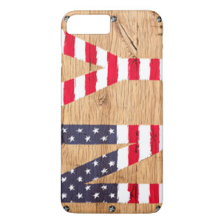 Capa iPhone 8 Plus/7 Plus O iPhone Samsung de Apple da bandeira dos EUA NY
