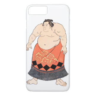 Capa iPhone 8 Plus/7 Plus O lutador do Sumo