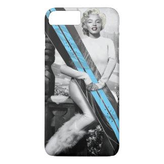 Capa iPhone 8 Plus/7 Plus O Snowboard de Marilyn