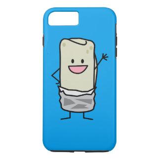 Capa iPhone 8 Plus/7 Plus Olá! de ondulação do Burrito feliz de Carne Asada