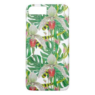 Capa iPhone 8 Plus/7 Plus Orquídeas & floral