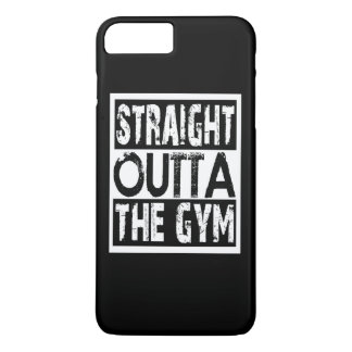 Capa iPhone 8 Plus/7 Plus Outta reto o Gym