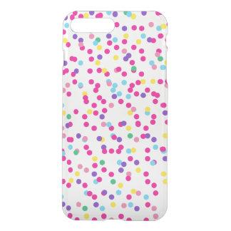 Capa iPhone 8 Plus/7 Plus Pontos dos confetes