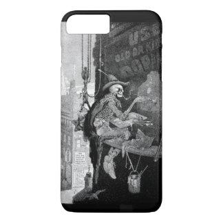 Capa iPhone 8 Plus/7 Plus Propaganda de esqueleto