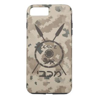 Capa iPhone 8 Plus/7 Plus Protetor e lanças de Maccabee do deserto