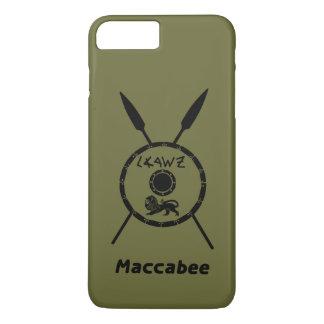 Capa iPhone 8 Plus/7 Plus Protetor e lanças Subdued de Maccabee