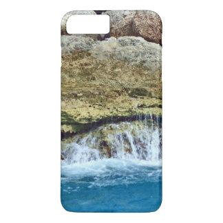 Capa iPhone 8 Plus/7 Plus Rochas lavadas mar
