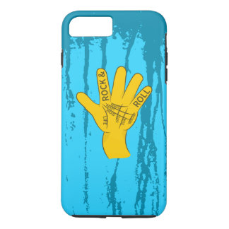 Capa iPhone 8 Plus/7 Plus Rock and roll do Palmistry