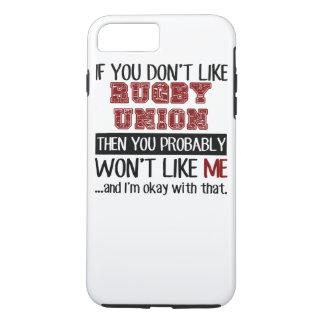Capa iPhone 8 Plus/7 Plus Se você não gosta da união do rugby legal