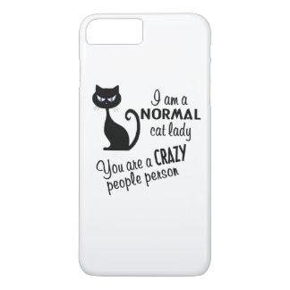 Capa iPhone 8 Plus/7 Plus Senhora do gato