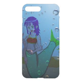 Capa iPhone 8 Plus/7 Plus Sereia subaquática