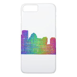 Capa iPhone 8 Plus/7 Plus Skyline de Boston