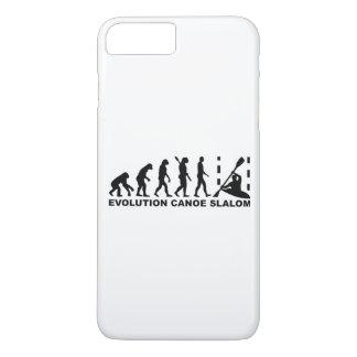 Capa iPhone 8 Plus/7 Plus Slalom da canoa da evolução