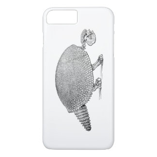 Capa iPhone 8 Plus/7 Plus tatu de esqueleto