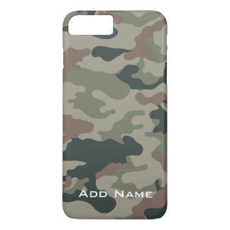 Capa iPhone 8 Plus/7 Plus Teste padrão de Camo para caçadores ou forças