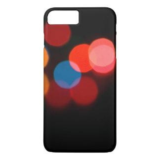 Capa iPhone 8 Plus/7 Plus Teste padrão dreamlike obscuro colorido do bokeh