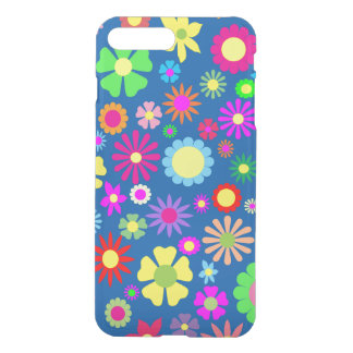 Capa iPhone 8 Plus/7 Plus Teste padrão floral colorido