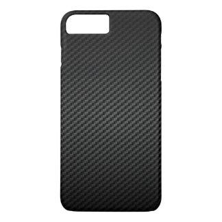 Capa iPhone 8 Plus/7 Plus Teste padrão forte luxuoso da textura da fibra do
