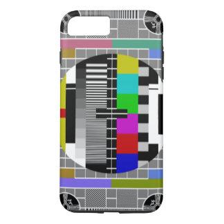 Capa iPhone 8 Plus/7 Plus Teste padrão retro do teletexto