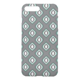 Capa iPhone 8 Plus/7 Plus Teste padrão tribal do ikat retro geométrico