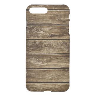 Capa iPhone 8 Plus/7 Plus texturas de madeira