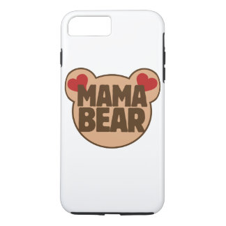Capa iPhone 8 Plus/7 Plus Urso do Mama