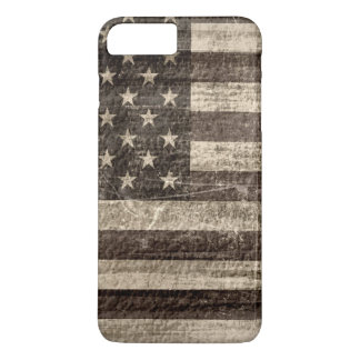 Capa iPhone 8 Plus/7 Plus Vintage da bandeira americana