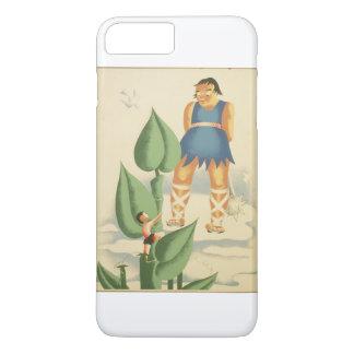 Capa iPhone 8 Plus/7 Plus Vintage Jack e o poster de WPA do Beanstalk