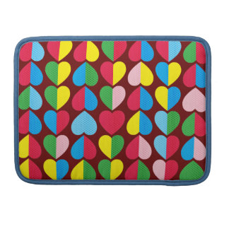 Capa MacBook Pro Corações dos doces dos namorados