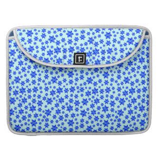 Capa MacBook Pro Do Splatter azul da pintura de Hanukkah estrela