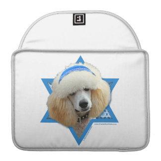Capa MacBook Pro Estrela de David de Hanukkah - caniche - abricó
