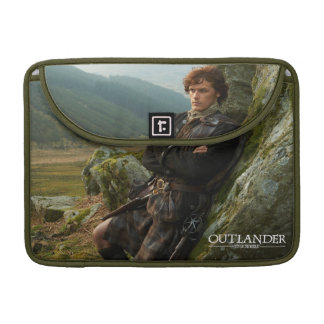 Capa MacBook Pro Fotografia de reclinação do Outlander | Jamie