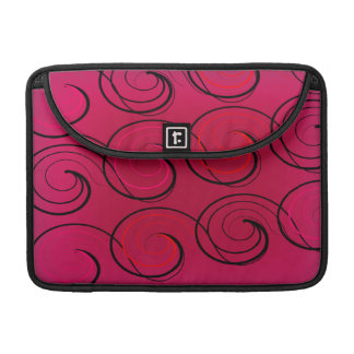 Capa MacBook Pro O abstrato roda na magenta